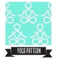 Yoga pattern vector image vector image