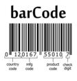 decoding barcode vector image