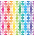 rainbow dots wallpaper vector image vector image