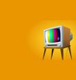 television set vector image