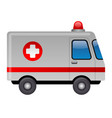 ambulance emergency car vector image