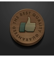 Best quality and guarantee icon vintage styled vector | Price: 1 Credit (USD $1)