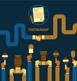 Business Partnership vector image