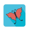 Butterfly cute cartoon design vector image vector image