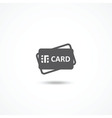 Credit Card Icon vector image