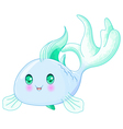 Cute Fish vector image vector image