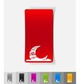 realistic design element dubai building vector image vector image