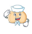 sailor chickpeas character cartoon style vector image vector image