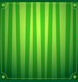 saint patricks day background with green striped vector image vector image