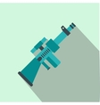 Toy gun flat icon vector image
