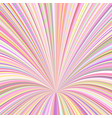 abstract 3d ray background - graphic from vector image vector image