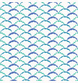 abstract geometric wave shapes sea blue and aqua vector image