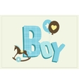 boy card vector image vector image