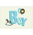 boy card vector image