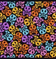 day dead holiday sugar skulls vector image vector image