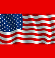 flag of usa american national symbol vector image