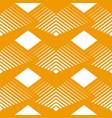 geometrical seamless pattern rhombuses line vector image vector image