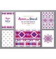 hand drawn mexican templates set vector image vector image