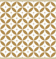 japanese seamless pattern gold geometric vector image vector image