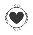 love pictogram vector image