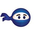 Ninja logo Flat icon