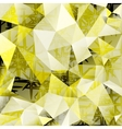 Polygonal Mosaic abstract background vector image vector image