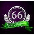 sixty six years anniversary celebration