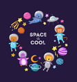 space animals background cute baby animal