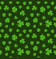 st patricks day seamless pattern or vector image vector image