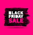 black friday sale banners pink color background vector image