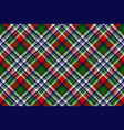 celtic classic check plaid seamles pattern vector image vector image