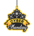 cyber monday deals vector image vector image