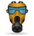 gas mask 06 vector image vector image