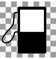 gas station - icon vector image