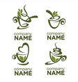 herbal tea vector image vector image