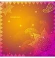 Gold Indian Vintage Ornament EPS10 Design vector image