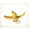 Banana peel vector image