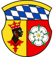coat of arms of freising is a district in upper vector image