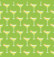 cocktails and limes vector image vector image
