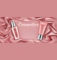cosmetics tubes mockup natural spa beauty product