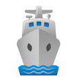 cruise liner icon vector image