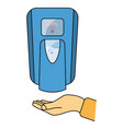 hand free sanitizer wall mounted soap automatic