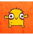 Happy Alien Cartoon vector image vector image
