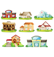 Houses and other building vector | Price: 3 Credits (USD $3)