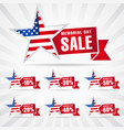 memorial day usa sale vector image vector image