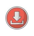 Download arrow of digital concept vector image