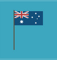 australia flag icon in flat design vector image