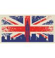 Britain flag vector image vector image