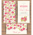 Greeting card templates vector image vector image