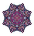 handdrawn mandala ornamental design vector image vector image